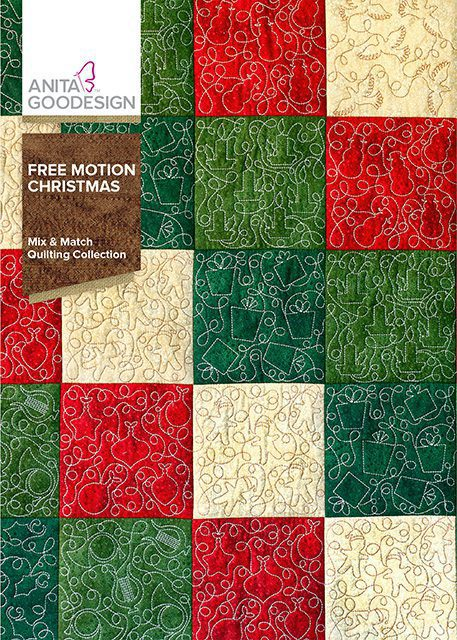 Free Christmas Quilt Block Patterns.Free Motion Christmas