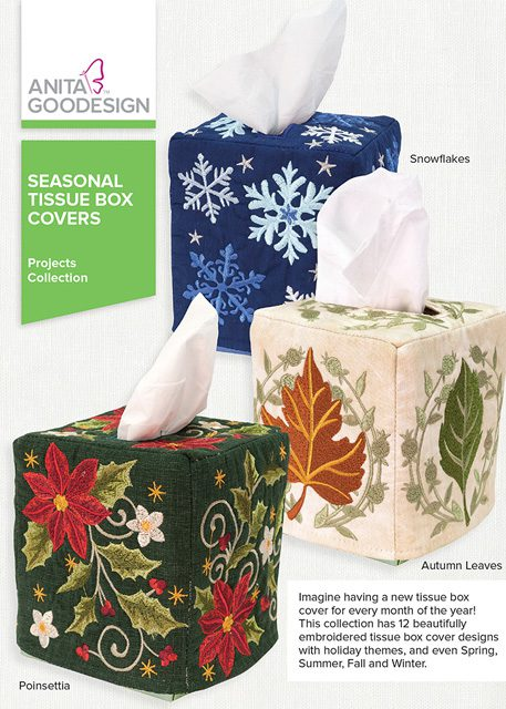 sc 1 st  Anita Goodesign & Seasonal Tissue Box Covers | Anita Goodesign Aboutintivar.Com