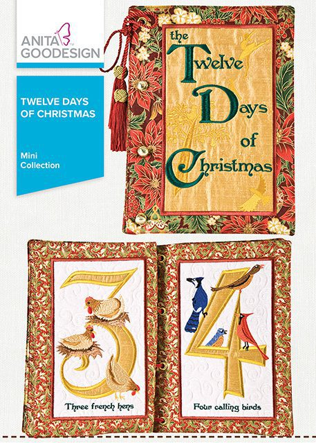 Twelve Days Of Christmas Book.Twelve Days Of Christmas