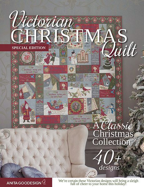 Christmas Quilt.Victorian Christmas Quilt