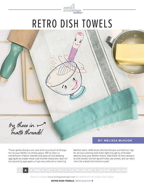 Retro Dish Towels