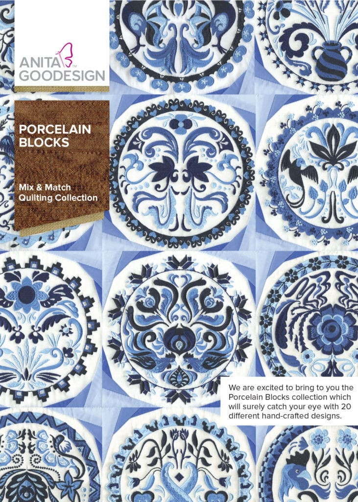 Anita Goodesign Porcelain Blocks