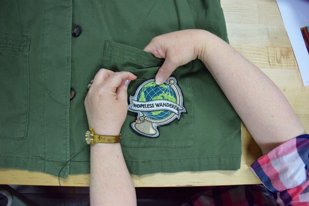 machine embroidery patches