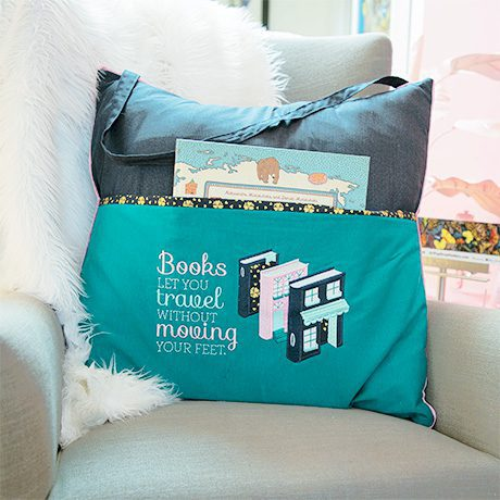 anita goodesign book pillows