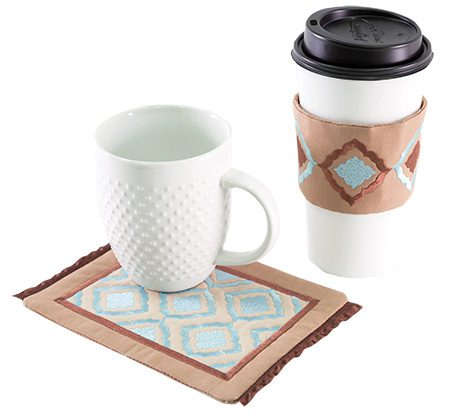 Anita Goodesign Mug Rugs & Coffee Wraps, Holiday Gift Guide