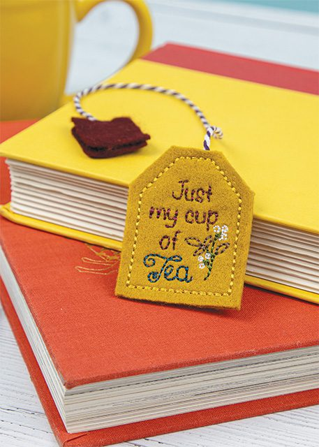 Anita Goodesign Tea Bag Bookmarks