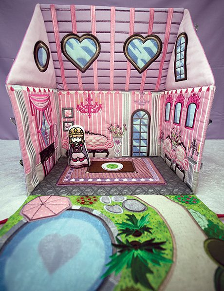 Anita Goodesign Princess Dream House