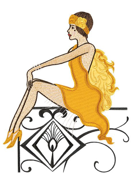 Anita Goodesign Roaring Twenties, Holiday Gift Guide
