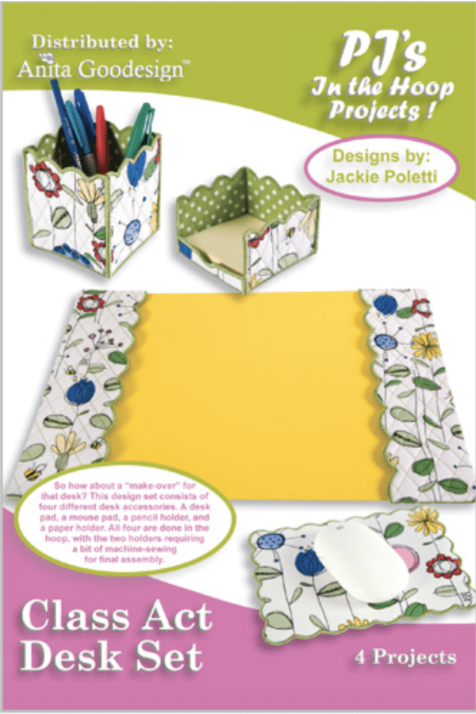 Anita Goodesign Class Act Desk Set