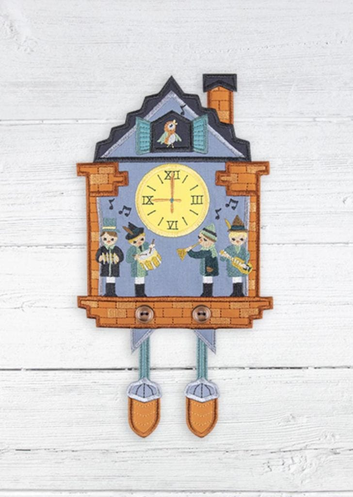 Anita Goodesign Holiday Gift Guide for Hostess Cuckoo Clock Danglers