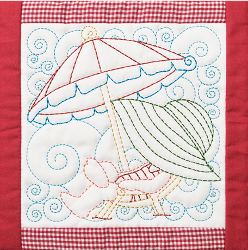 Anita Goodesign Holiday Gift Guide for Hostess sunbonnet sue seasons