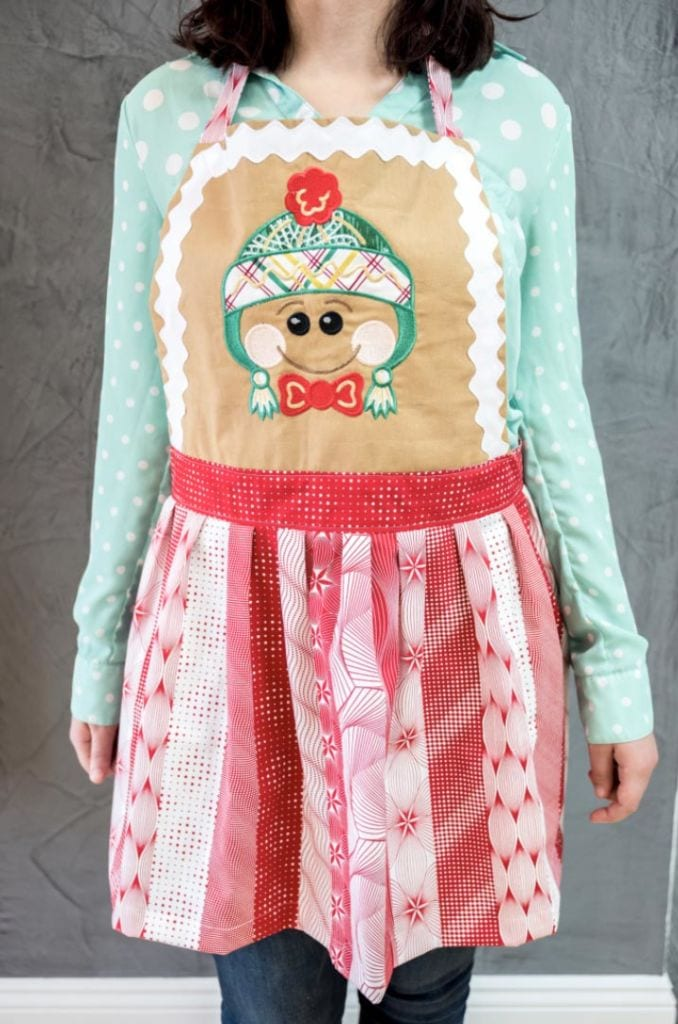 Anita Goodesign Holiday Gift Guide for Hostess Apron Faces
