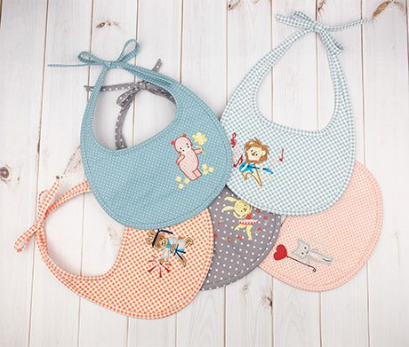 Anita Goodesign Baby Bibs, holiday gift guide