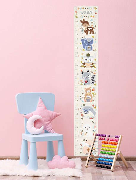 measure me growth chart, anita goodesign
