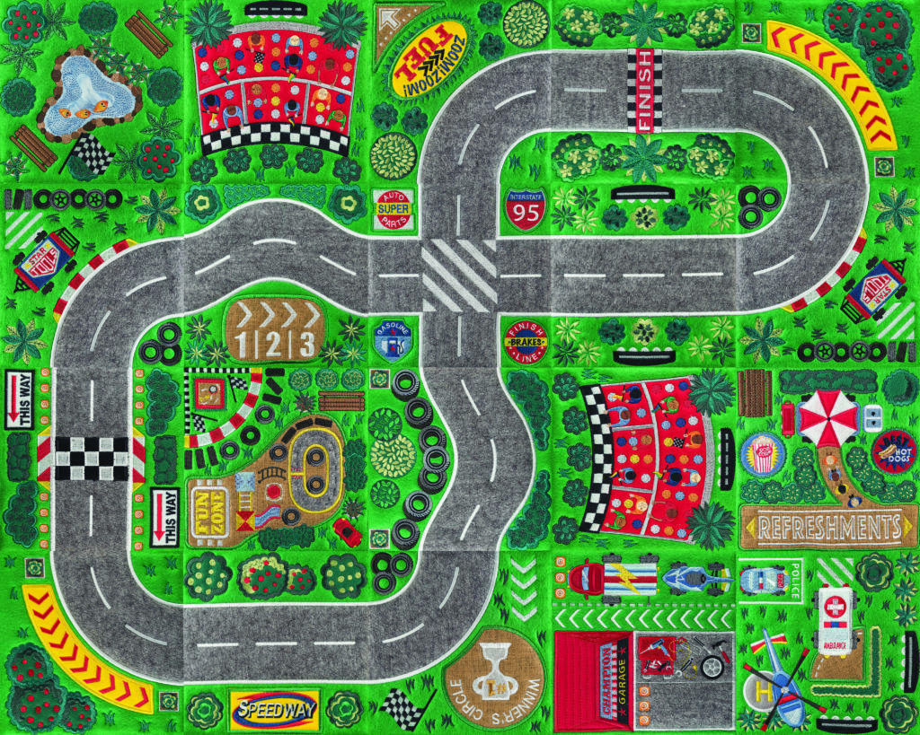 racetrack playmat, anita goodesign