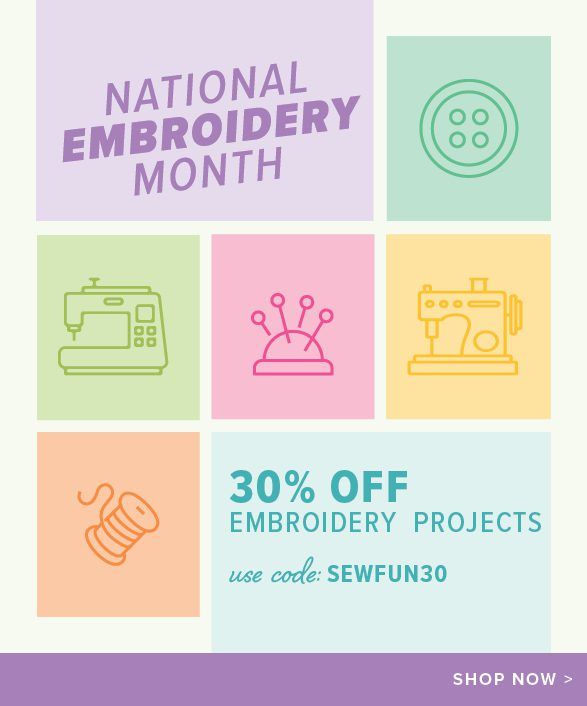 National Embroidery Month